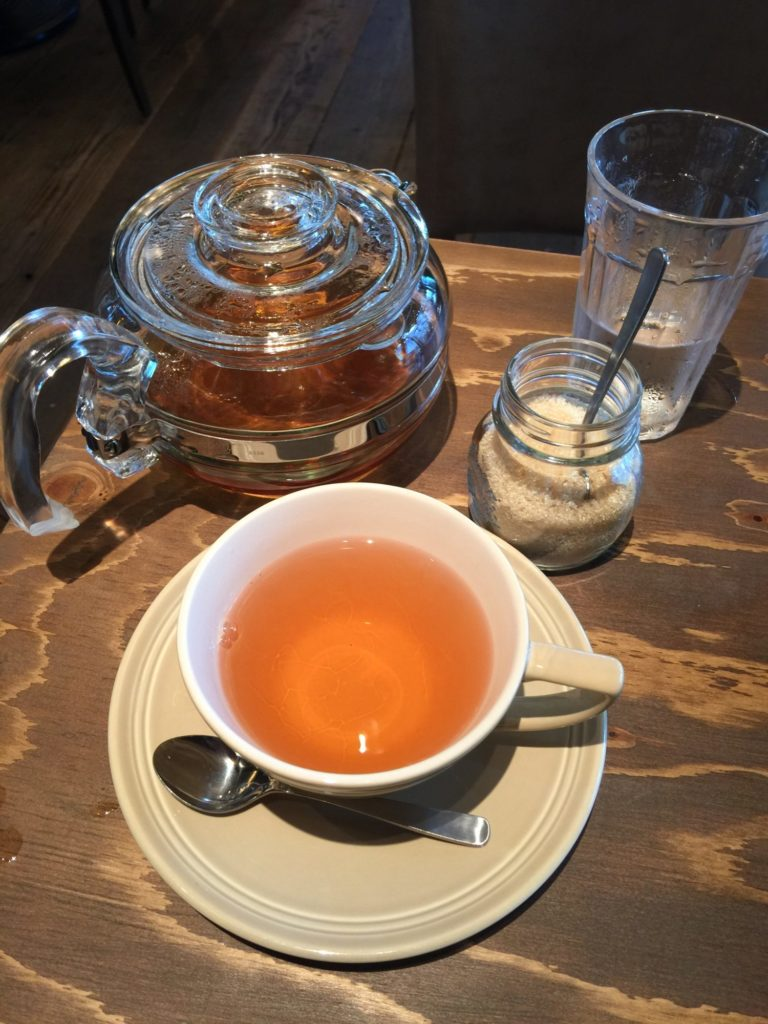 花イチゴの紅茶