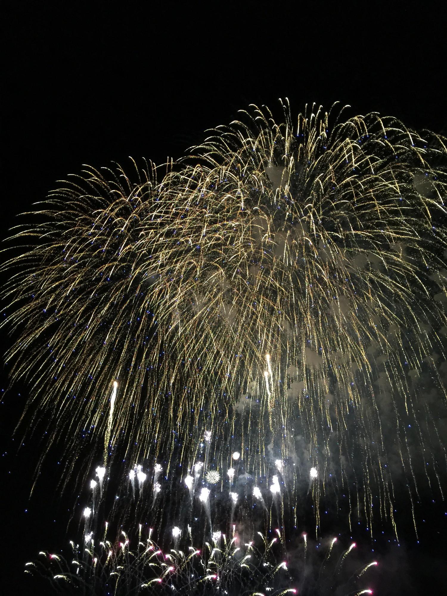小木港の花火