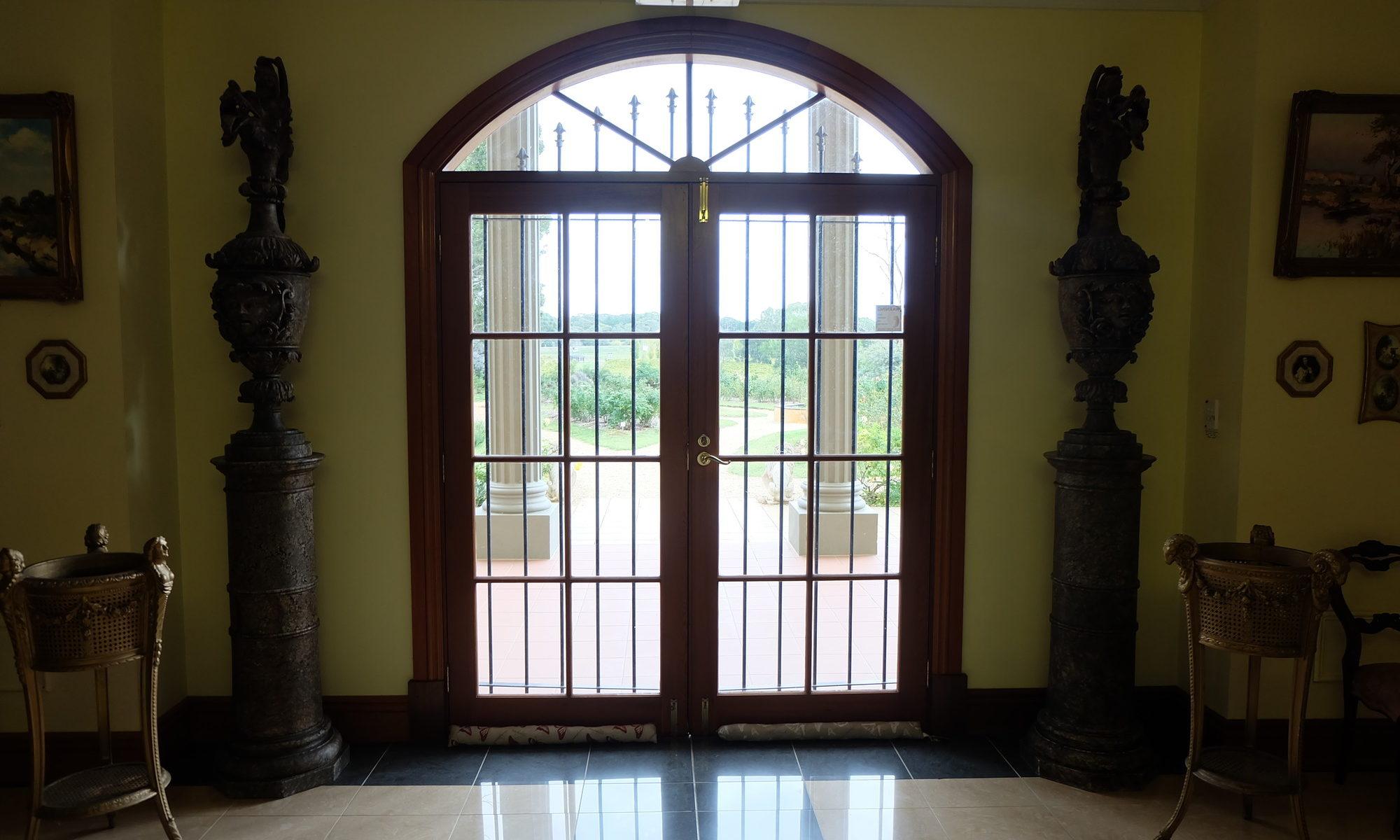 バロッサバレーの建物の扉