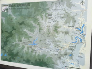 青柳車庫にあった地図