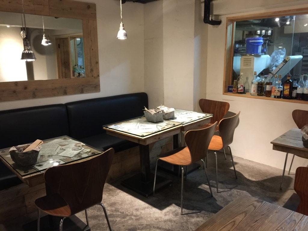 半蔵門のカフェTiMiのカフェスペース3