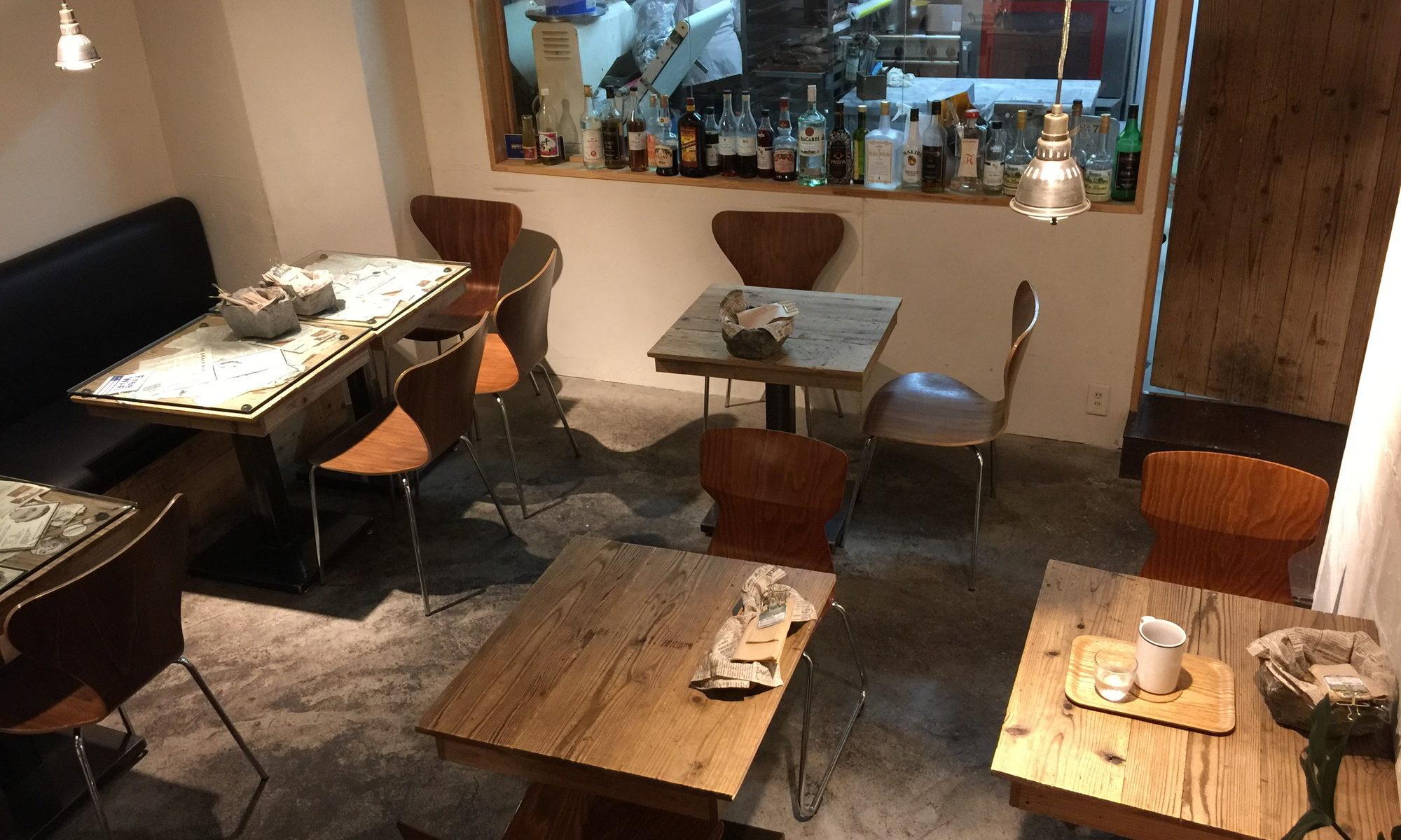 半蔵門のカフェTiMiのカフェスペース