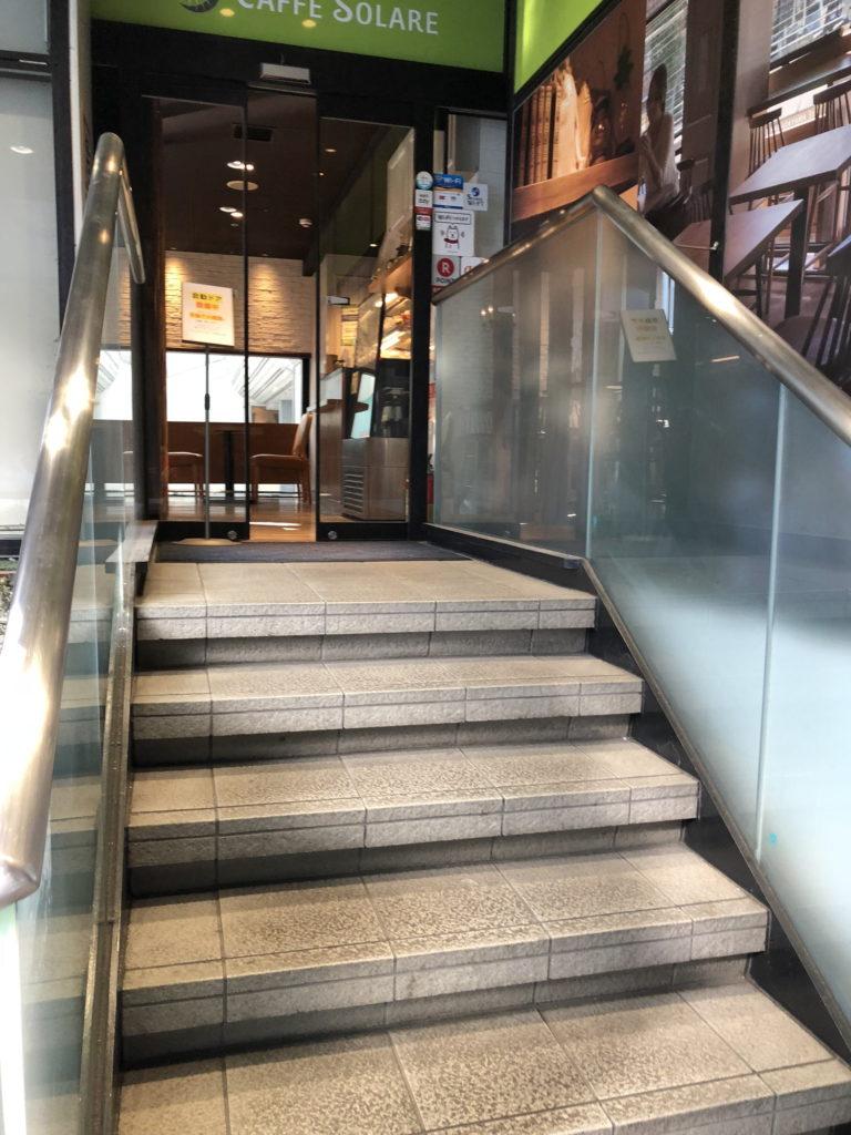 カフェ ソラーレ ビーンズ阿佐ヶ谷店の入口