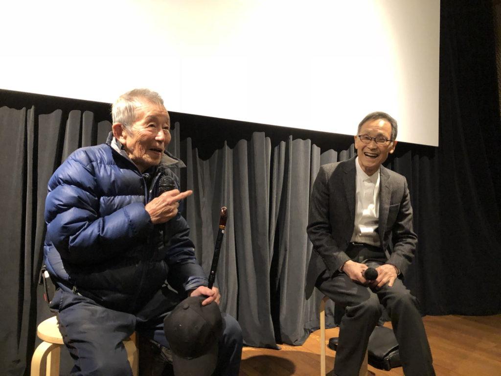 龍村仁氏と中澤宗幸氏の対談
