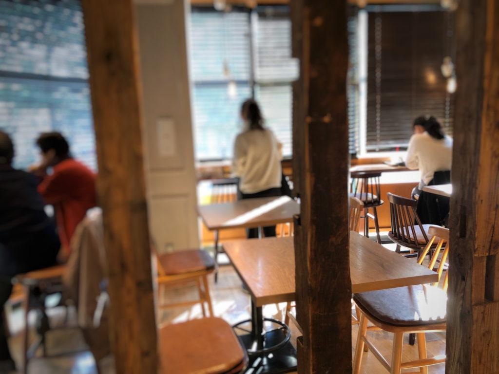 カフェ ソラーレ ビーンズ阿佐ヶ谷店の入り口付近の店内その2