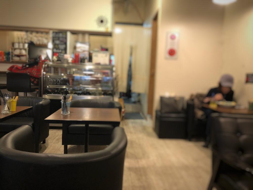 ティーノカフェの禁煙席