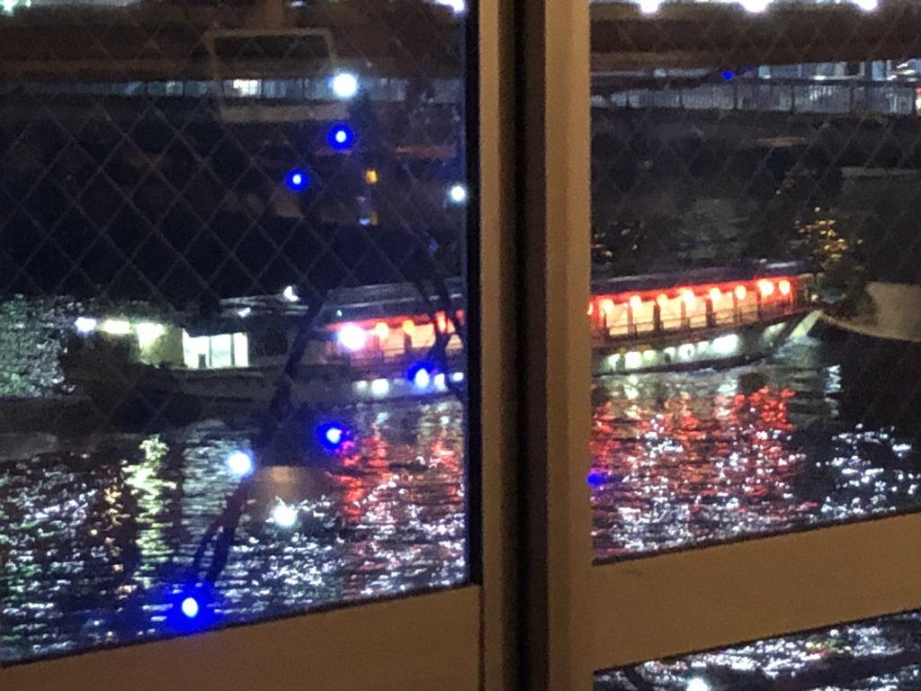 カフェムルソーから見える屋形船その2