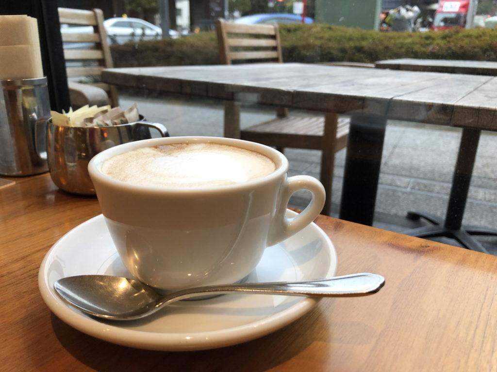 カフェ88のカフェラテ