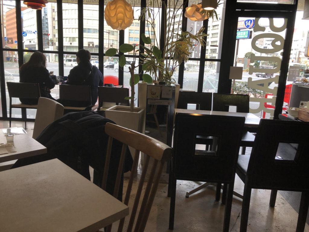 スクエアカフェ 東日本橋 本店の店内の様子その2
