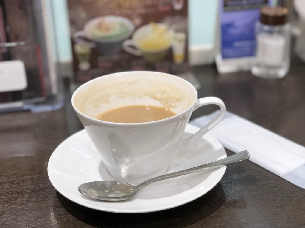 Cafe KOTOのカフェオレ