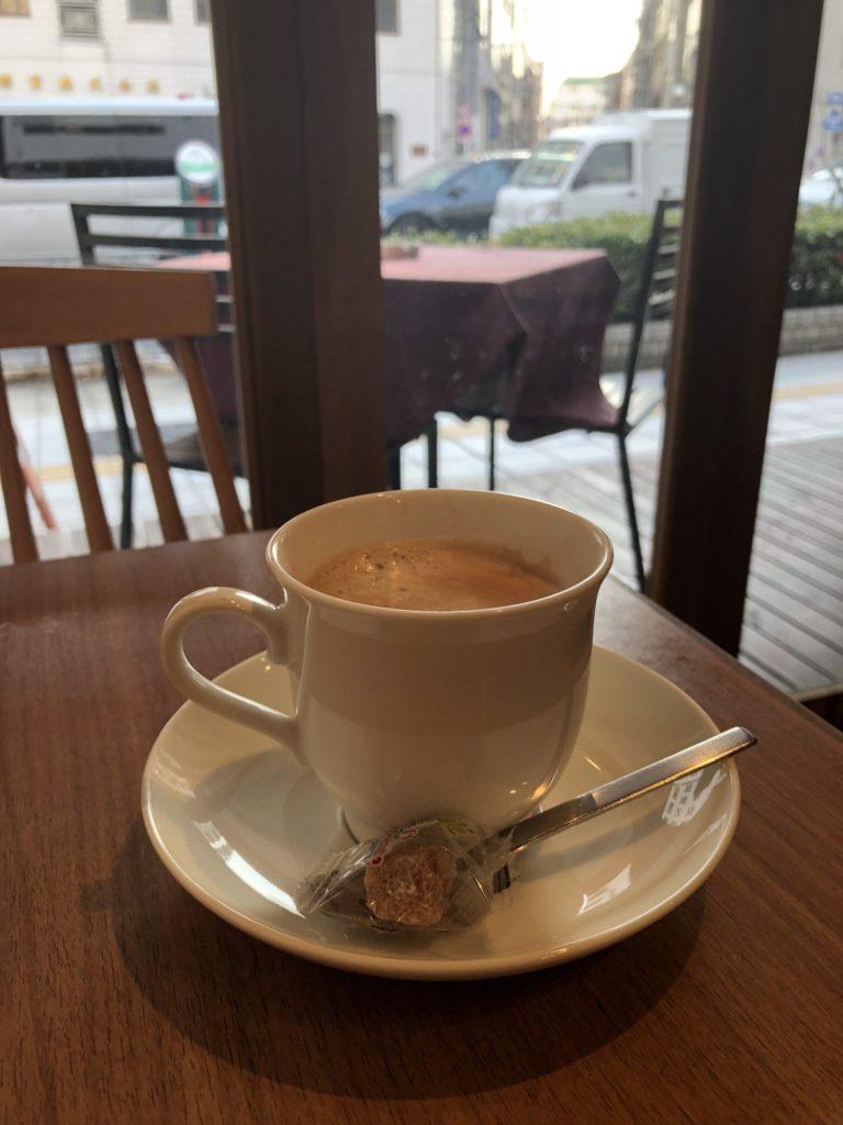 蔵前四丁目カフェのカフェラテ