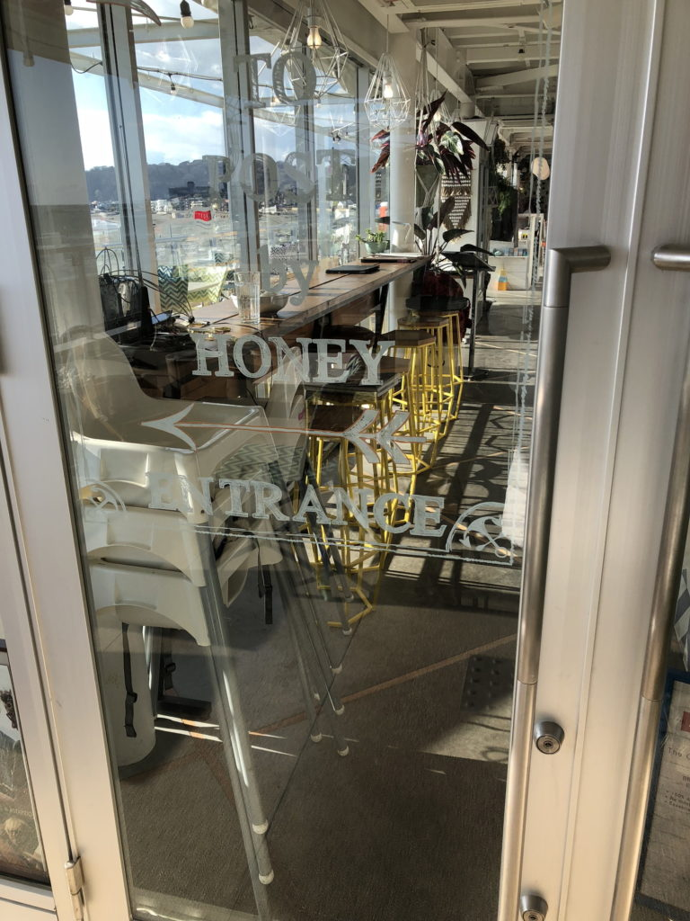 Post by HONEYの入り口ドア