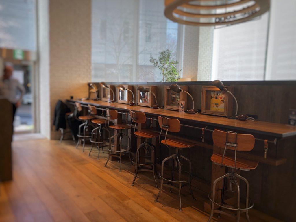 cafe 1886 at Boschの電源がある席