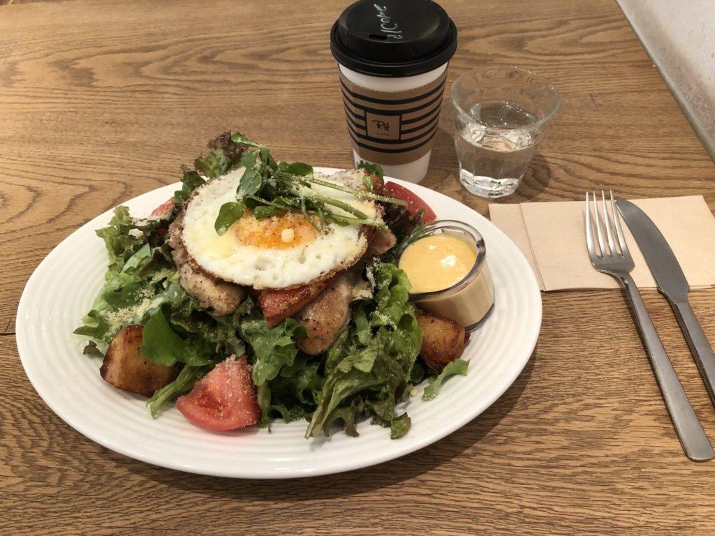 RHカフェ(ロンハーマンカフェ)の朝食サラダ