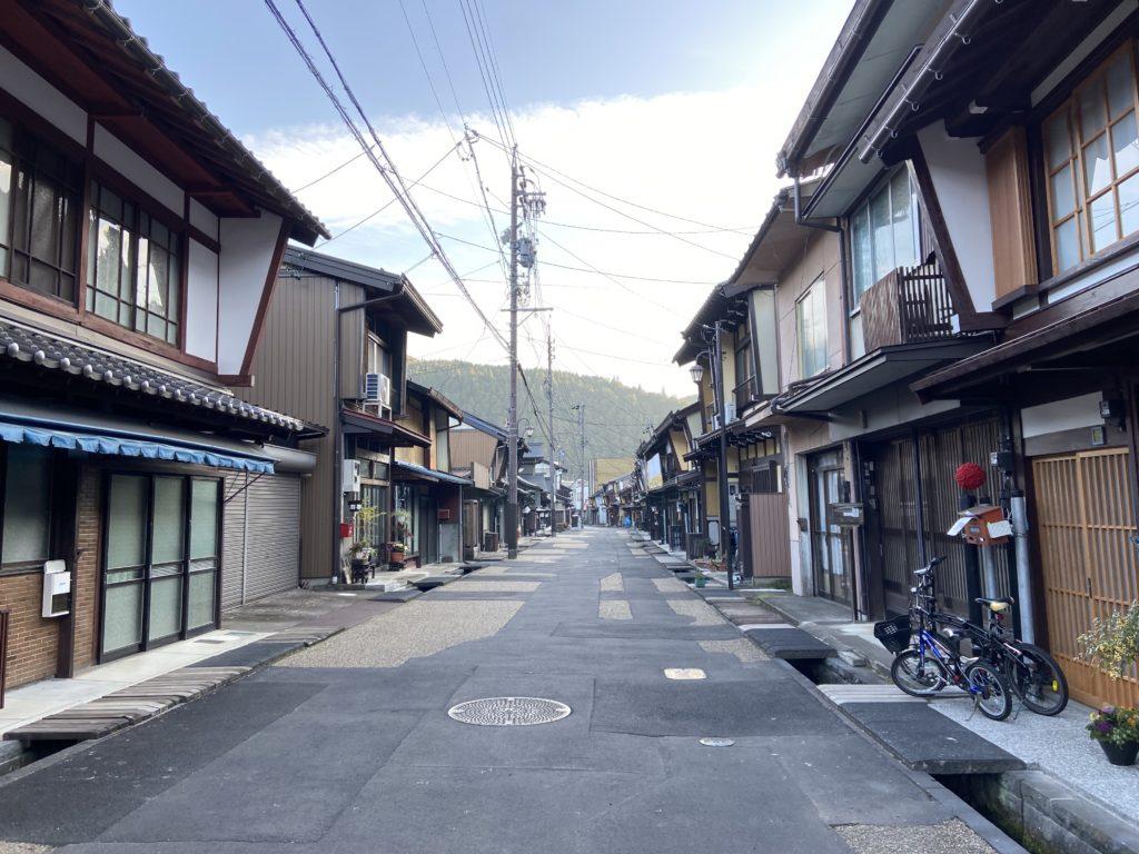 城下町の古い町並