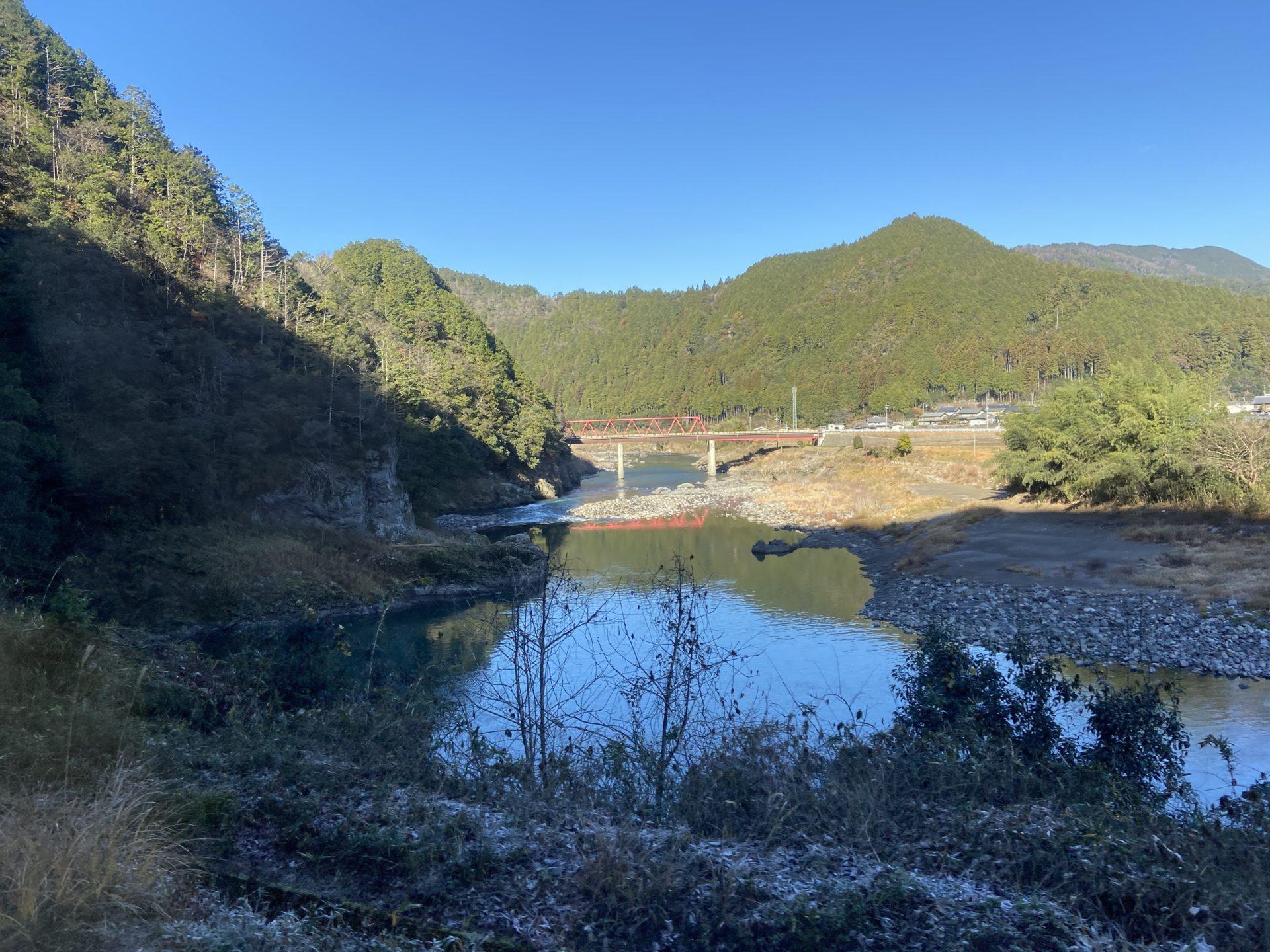 長良川鉄道からの眺め