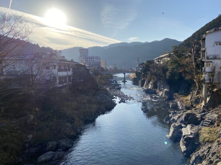 郡上八幡、新橋からの眺め